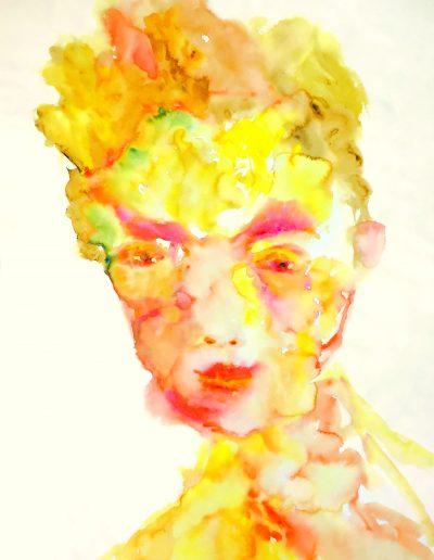 Goldener Herbst – Aquarell